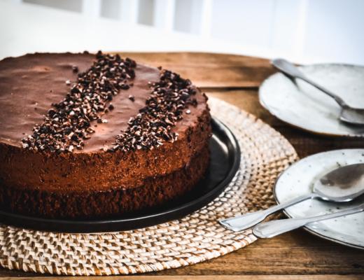 Gâteau nuage au chocolat