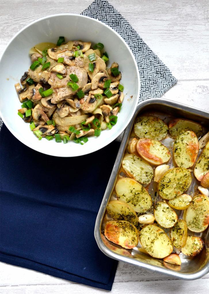 Accompagnement pommes de terre au four