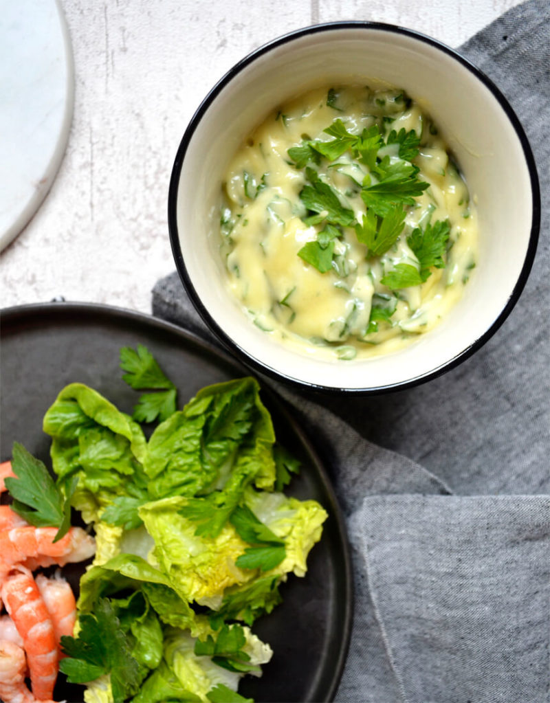 Mayonnaise aux herbes