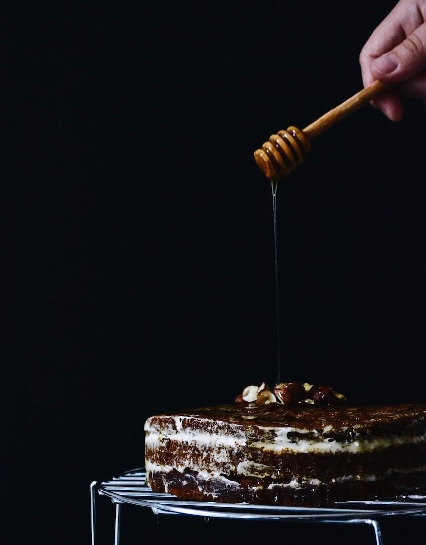 Layer cake d'automne au potimarron