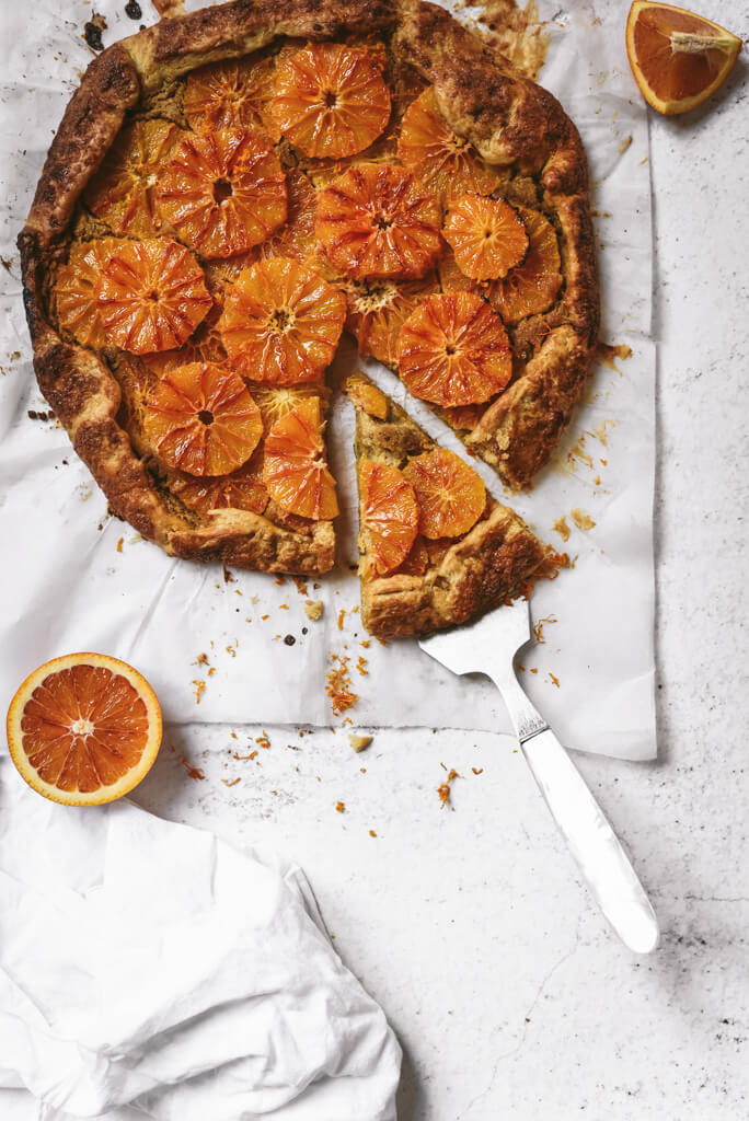 Tarte orange amande