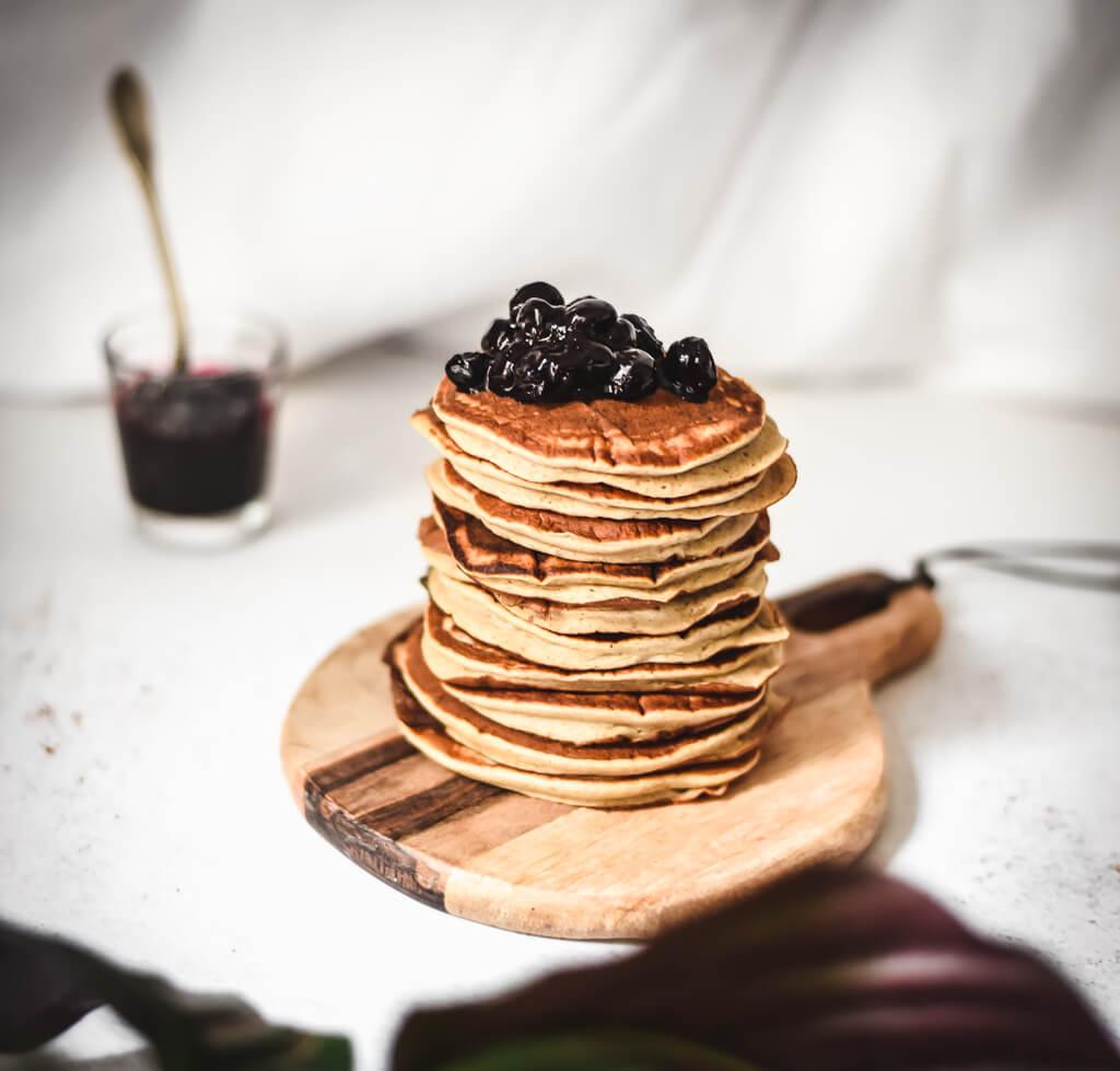 Pancakes banane Weight Watchers sans sucre