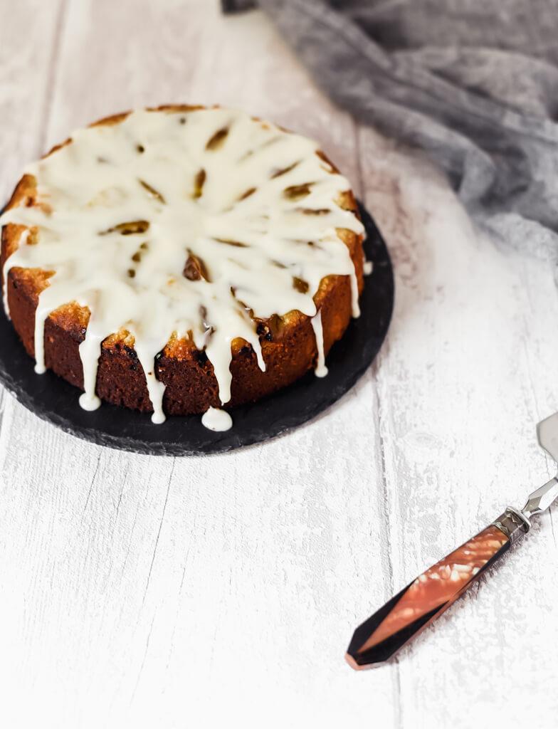 Gâteau aux amandes vegan