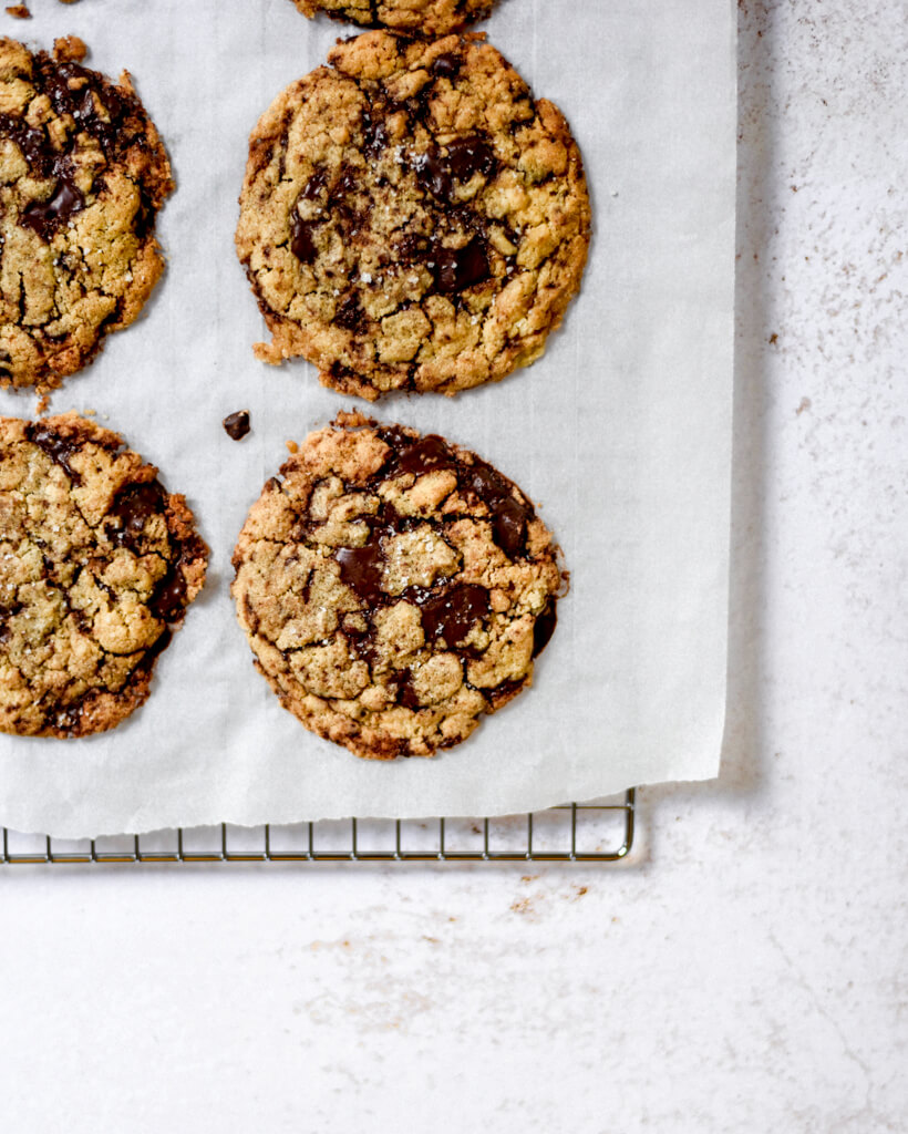 Cookies au pépites de chocolat noir