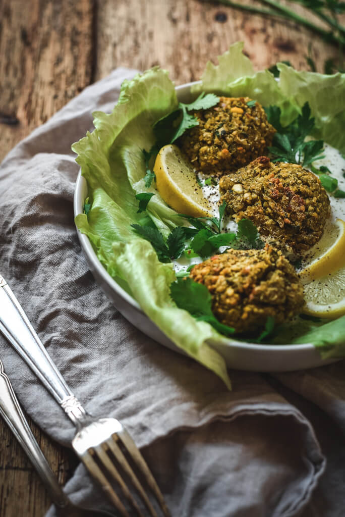 Falafels Weight Watchers au four