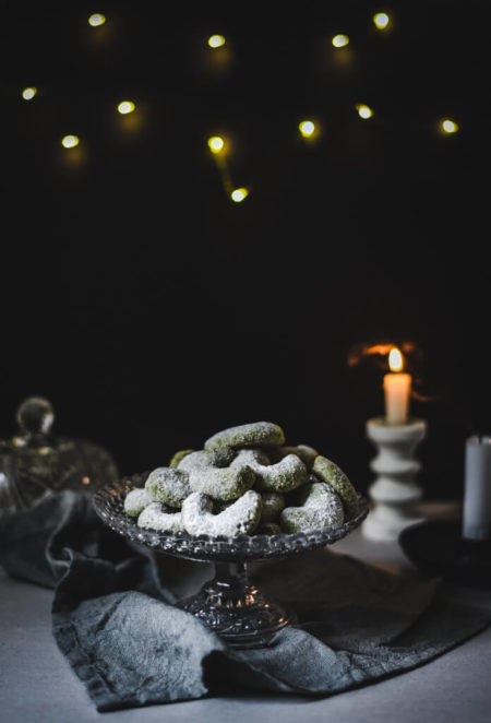 Kipferle pistache